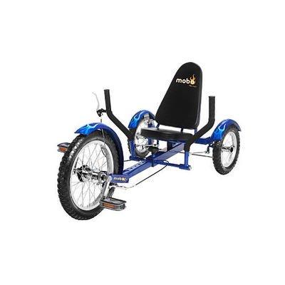 Blue 3 Three Wheel Wheeler Bicycle Cruiser Bike Tricycle Low Rider Riding Trike (Recumbent Trike)