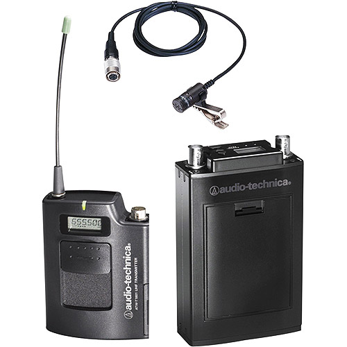 ATW-1811D Wireless Microphone System, ATW-R1810 Receiver & ATW-T1801 UniPak Transmitter, Band D... by Audio-Technica