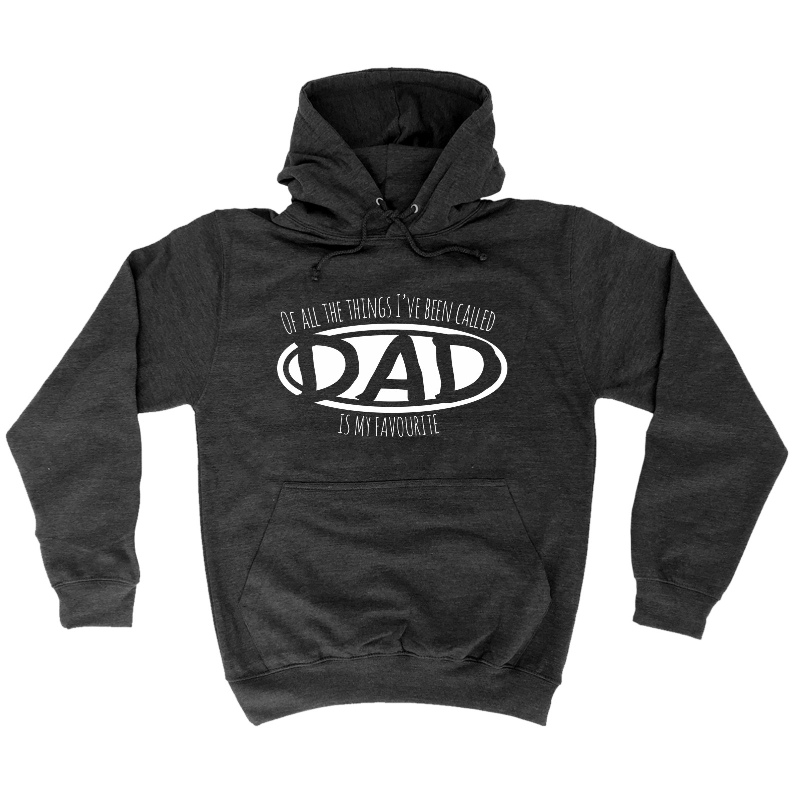 123t Things Ive Been Called Dad Is My Favourite Father Grandfather Son Pop HOODIE