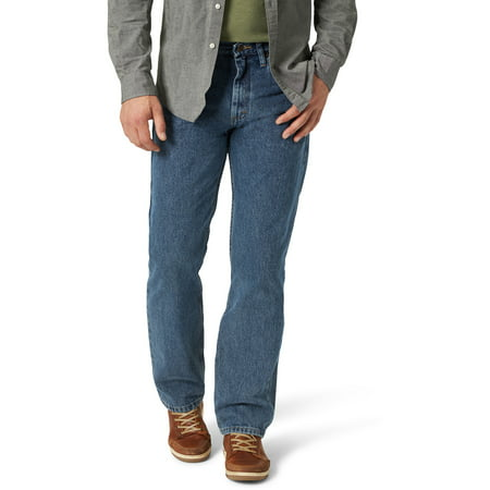 Wrangler® Mens 5-Star Relaxed Fit Jeans - Vintage Wash 40x32