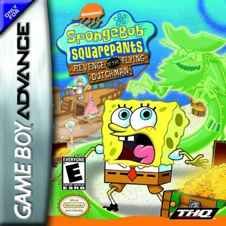 Game Boy Advance Gba Box - SpongeBob SquarePants: Revenge of the Flying Dutchman - Nintendo Gameboy Advance GBA (Refurbished)