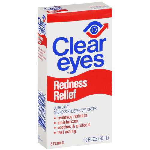 Clear Eyes Redness Relief Eye Drops, 1 fl oz