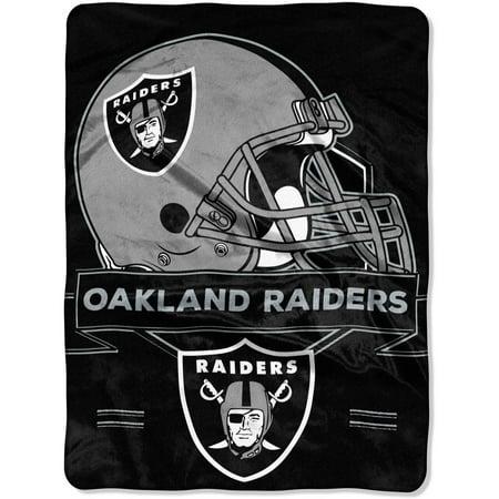 "NFL Oakland Raiders ""Prestige"" 60"" x 80"" Raschel Throw by"