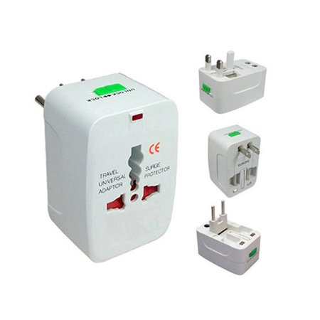 Universal World Travel Adapter Converter Wall Charger US UK AU EU Power Plug New