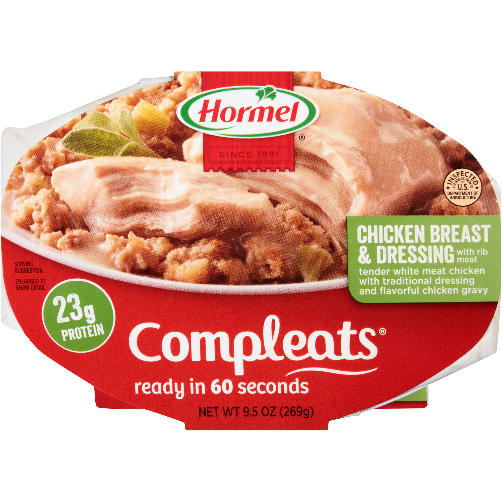 Hormel Compleats Chicken Breast & Dressing, 9.5 oz
