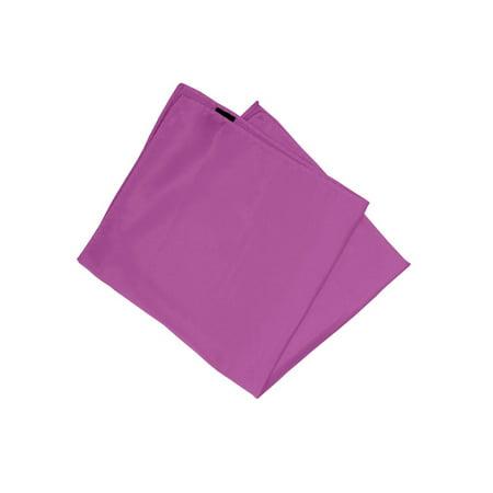 Mens White Ceramic - Mens Solid Color Pocket Squares Wedding Handkerchiefs