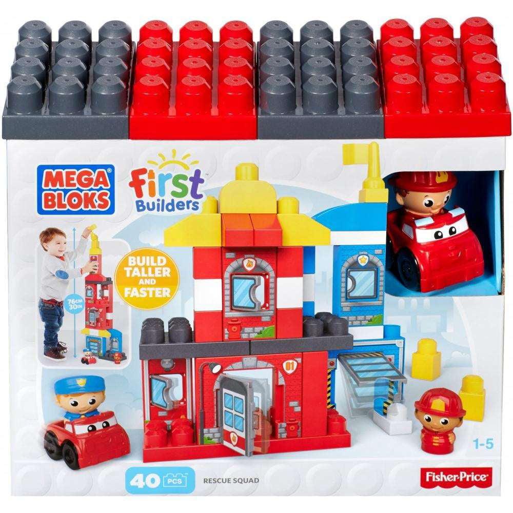 Mega Bloks First Builders Rescue Squad by Mega Bloks