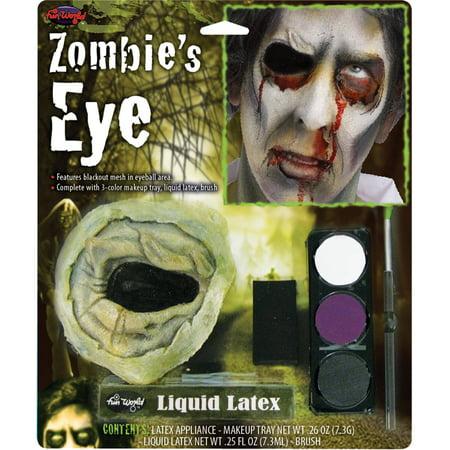Zombie's Eye Kit Adult Halloween Accessory - Eye Kits For Halloween