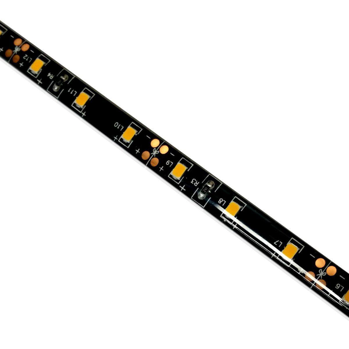Dream Lighting 12V LED 72inch Flexible Strip Light Waterproof Decorative Light Fixture for RV Campervan Trailer Boat Cabinet Decorating Under Car Body Blue Light
