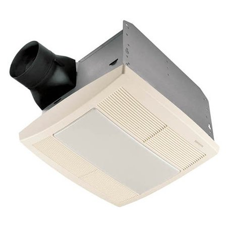 Broan-Nutone QTRE080FLT Ultra Silent Bathroom Fan / Light / Night-Light - ENERGY