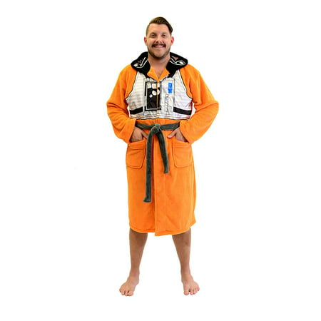 Star Wars X-Wing Fighter Pilot Fleece Costume Robe (One Size)](Xwing Pilot Costume)