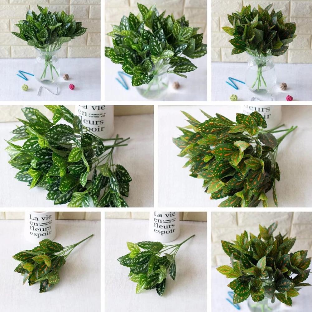 HiCoup 1 Bouquet Artificial Grass Plastic Plant Room Office Home Garden Bonsai Decor