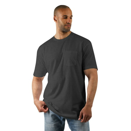 Ma Croix Mens Premium Pocket Tee Lightweight Cotton Workwear Crewneck Short Sleeve T Shirt