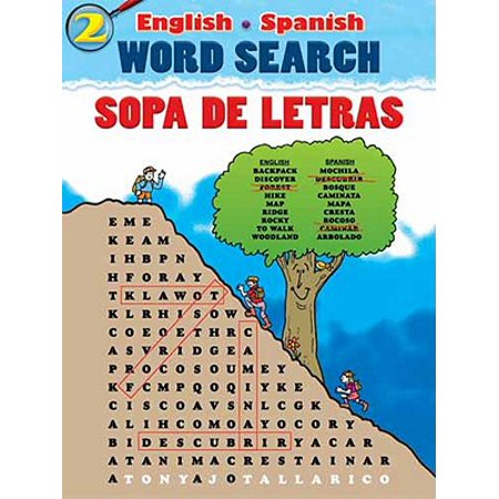 English-Spanish Word Search Sopa de Letras - Halloween Words Az