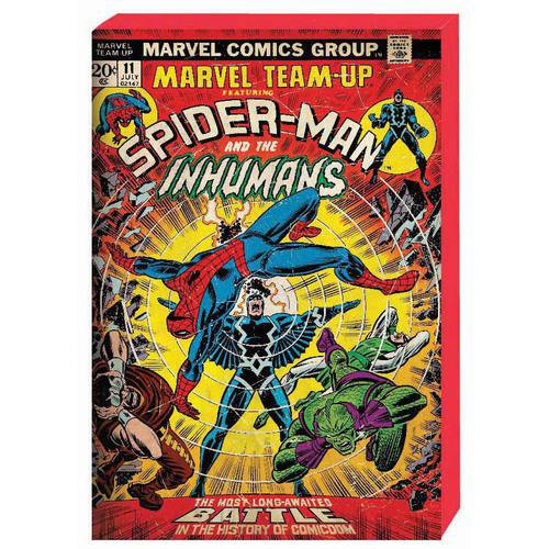 Spiderman Retro Comic Book Cover MDF Box Art M9T1SP4
