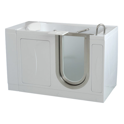 Ella Walk In Baths 52'' x 30'' Elite Soaking Walk In Tub