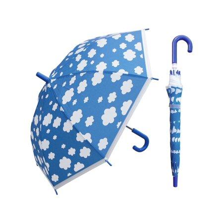 w107chcloud 32 in. childrens cloud print plastic canopy umbrella, 3 piece (Umbrella Plastic Cover)