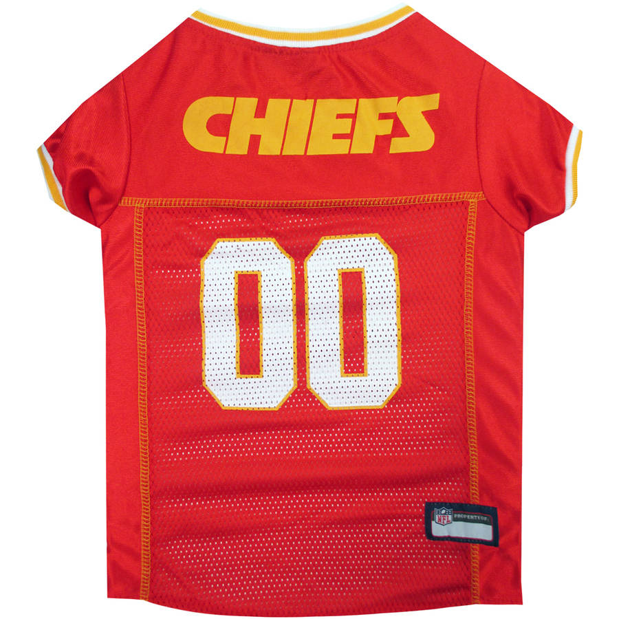 Pets First NFL Kansas City Chiefs Pet Jersey