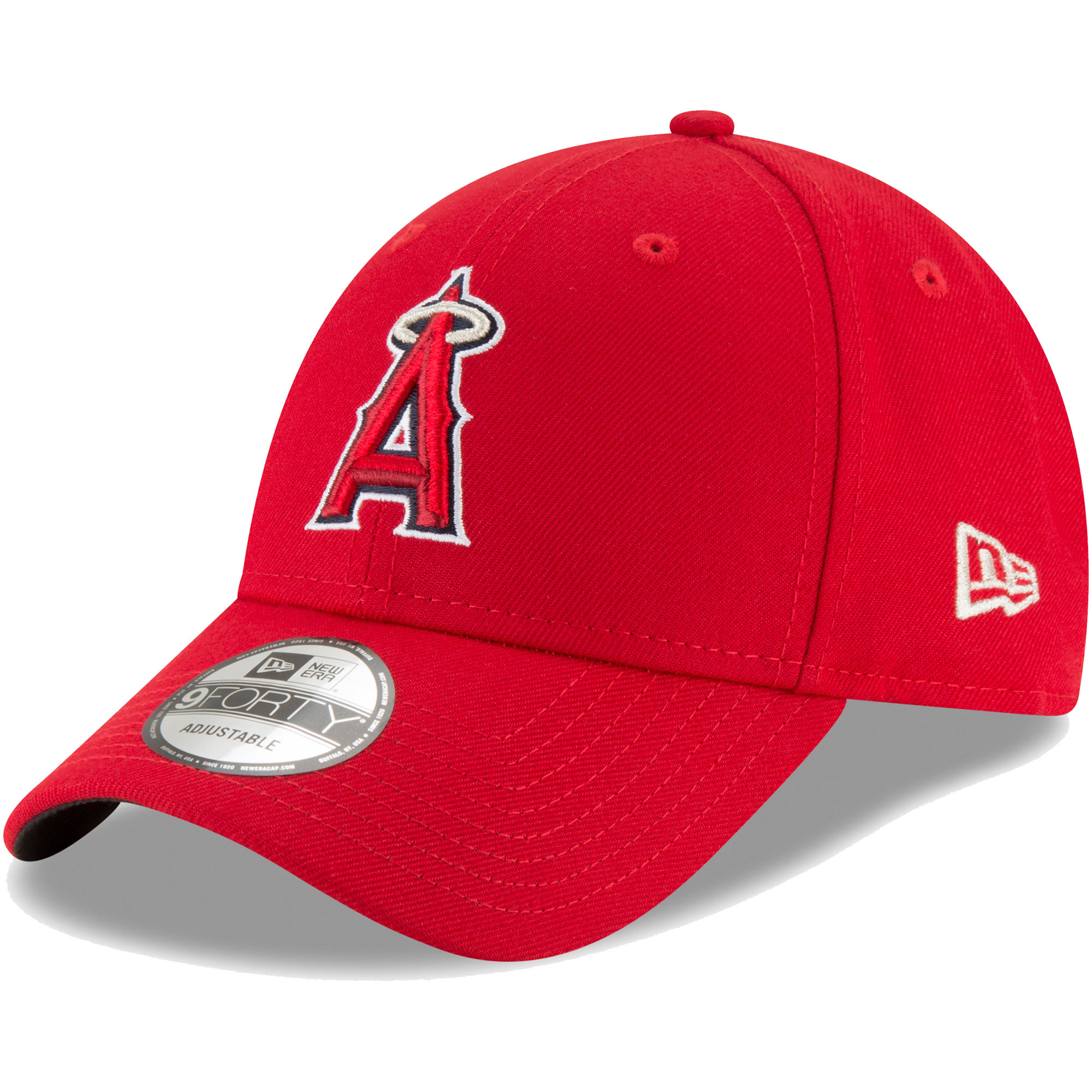 Los Angeles Angels New Era Game The League 9FORTY Adjustable Hat - Red - OSFA