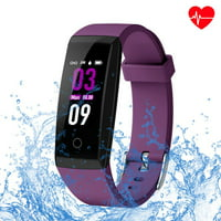 Waterproof Fitness Tracker,VIPUS Smart Bracelet Watch with Color Screen,Wristband Activity Tracker w/ Sleep Monitor, Heart Rate Monitor, Blood Pressure for Kids Women Men