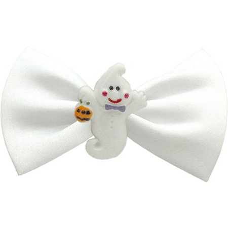 Mirage 47-03 WT Ghost Chipper White Pet Bow Tie 3.5