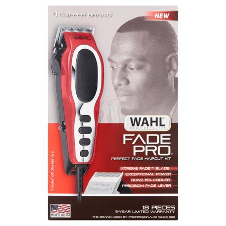 Wahl Fade Pro 18 Pieces Perfect Fade Haircut Kit Walmart