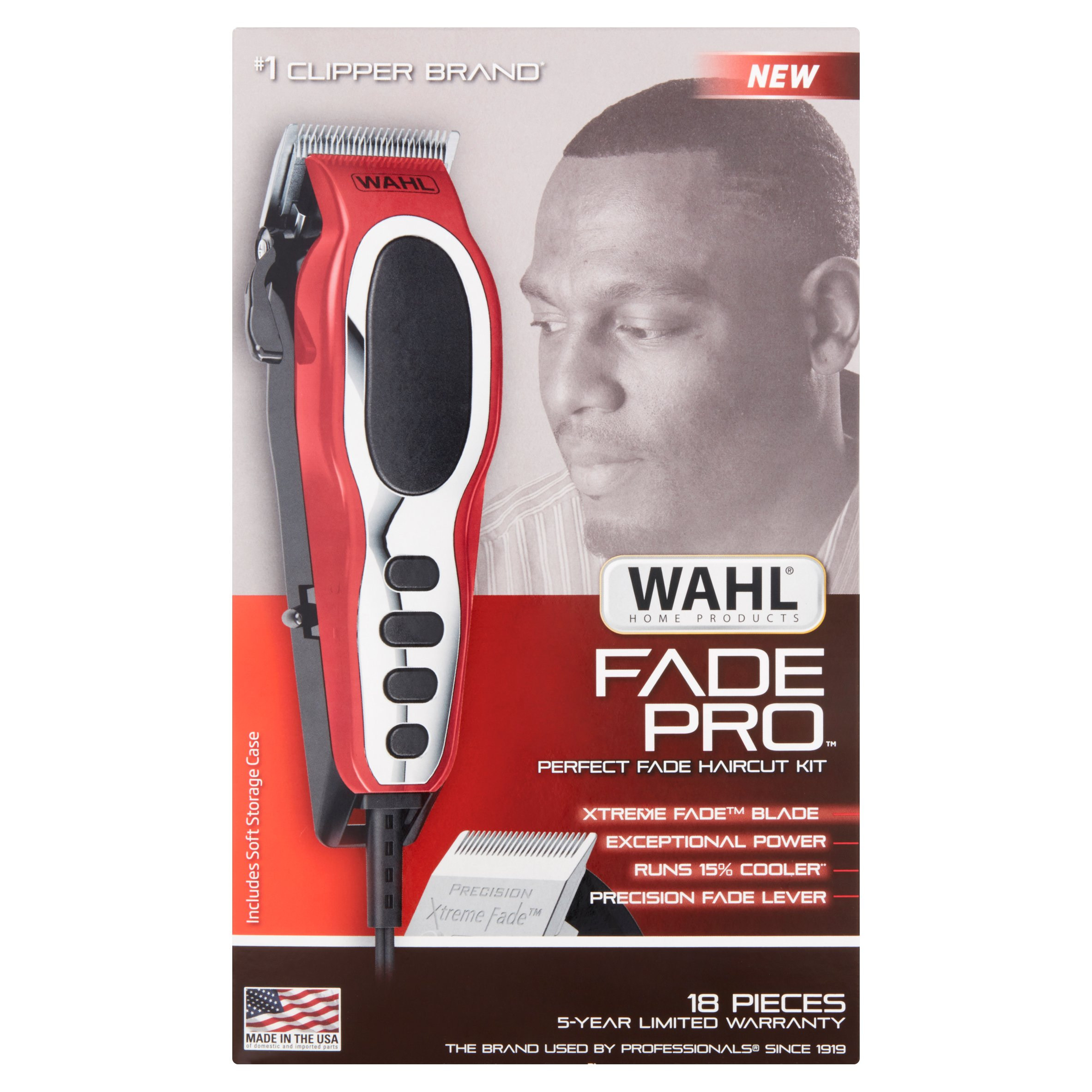Wahl Fade Pro 18 Pieces Perfect Fade Haircut Kit