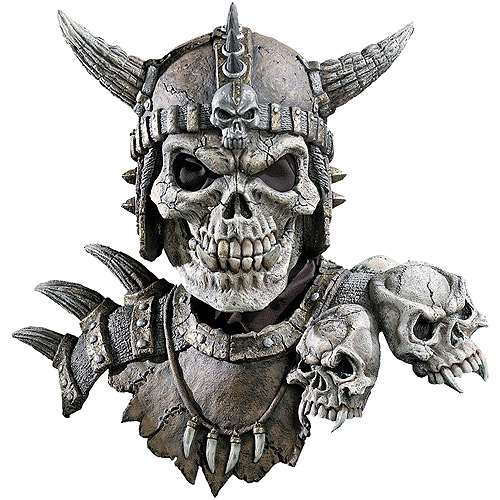 Halloween Adult Kronos Mask And Shoulders