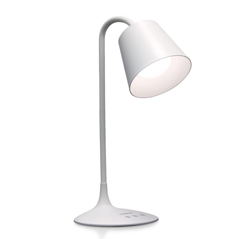Tenergy Classic LED Desk Lamp With Built In Battery For Portable Use,  Adjustable Brightness