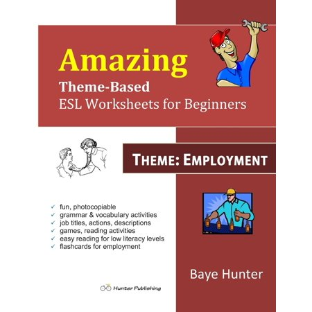 Amazing Theme-Based ESL Worksheets for Beginners -Theme : Employment
