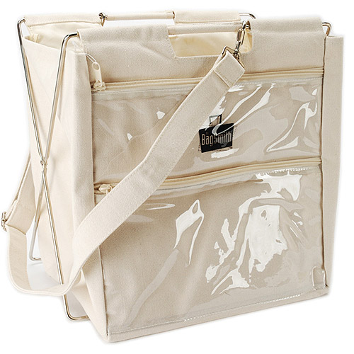 "Bagsmith's Famous Canvas Project Bag, Natural 12""X12""X9"""