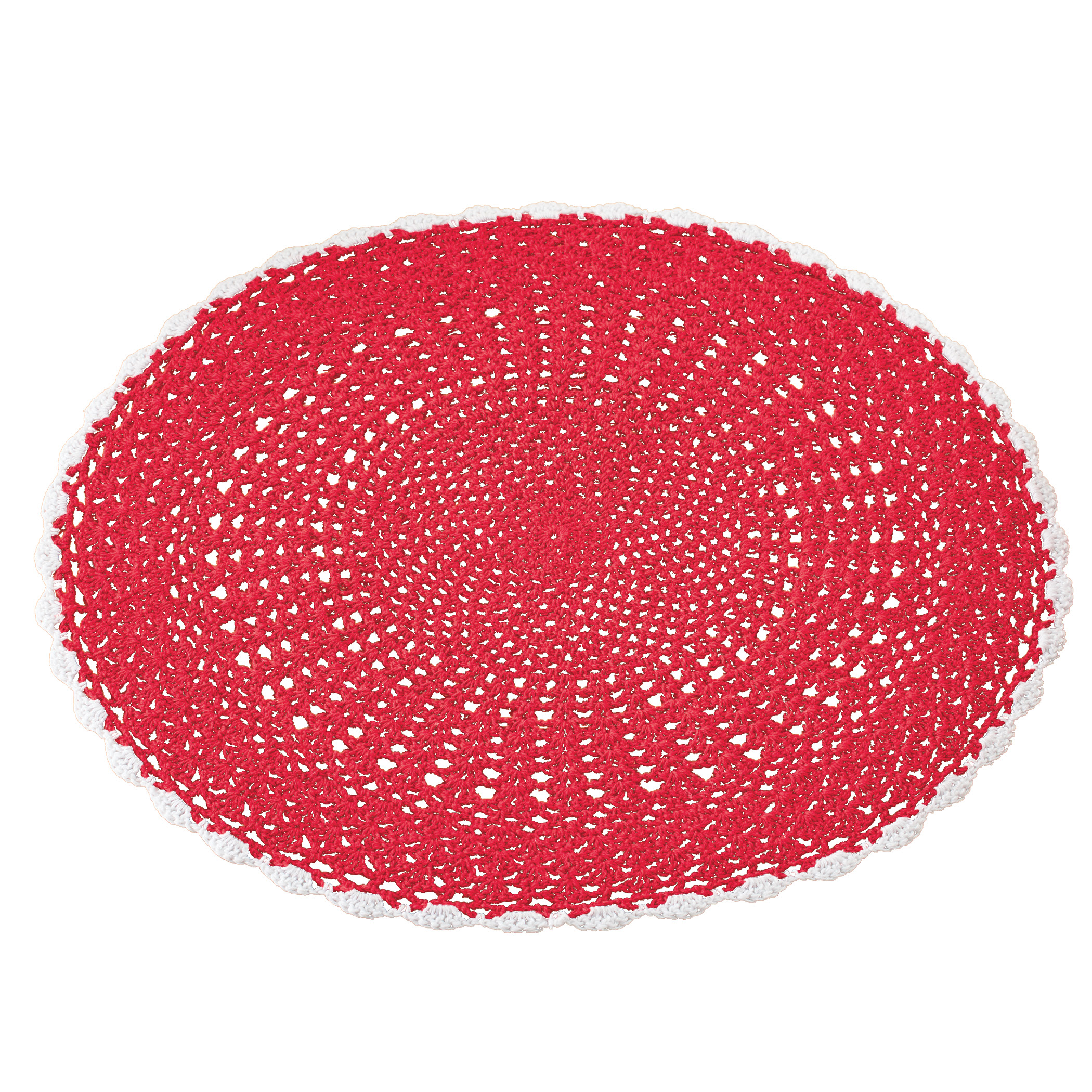 Set of 4 crochet placemats to match your decor