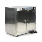 Heatmax Commercial Countertop Hot Box Food Warmer With Water Tray 25 x 15 x 24