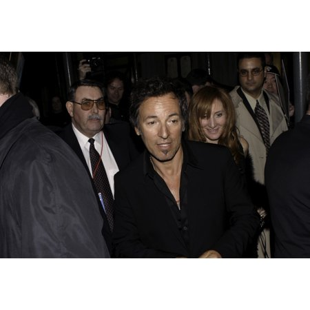 Bruce Springsteen at the Rock and Roll Hall of Fame induction ceremony Photo