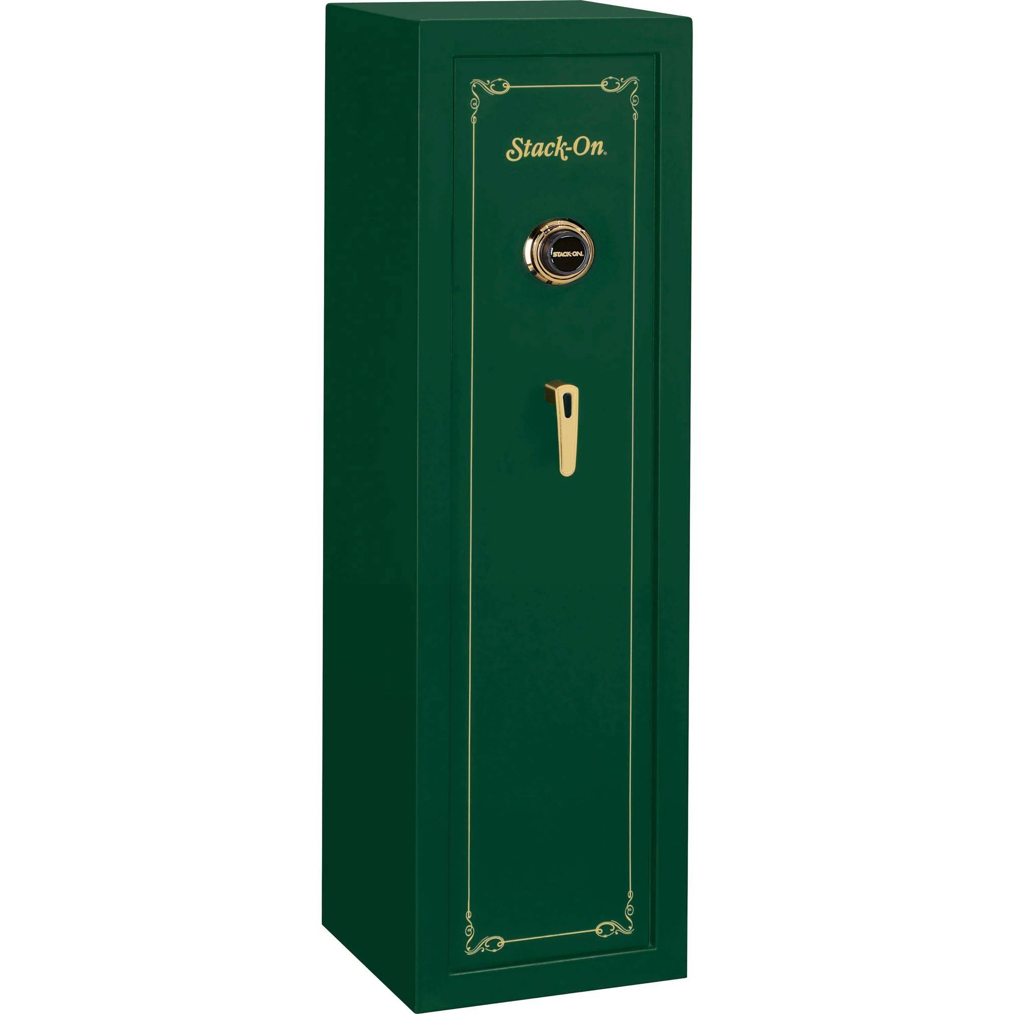 Stack-On 10-Gun Safe with Combination Lock, Hunter Green by Stack-On Products