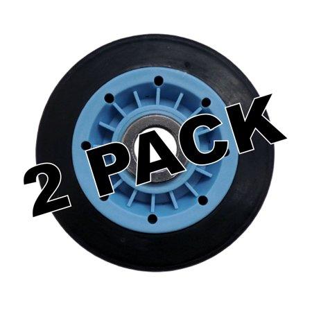 - 2 Pk, Dryer Drum Roller Assembly for LG, AP5669956, PS7321740, 4581EL3001E
