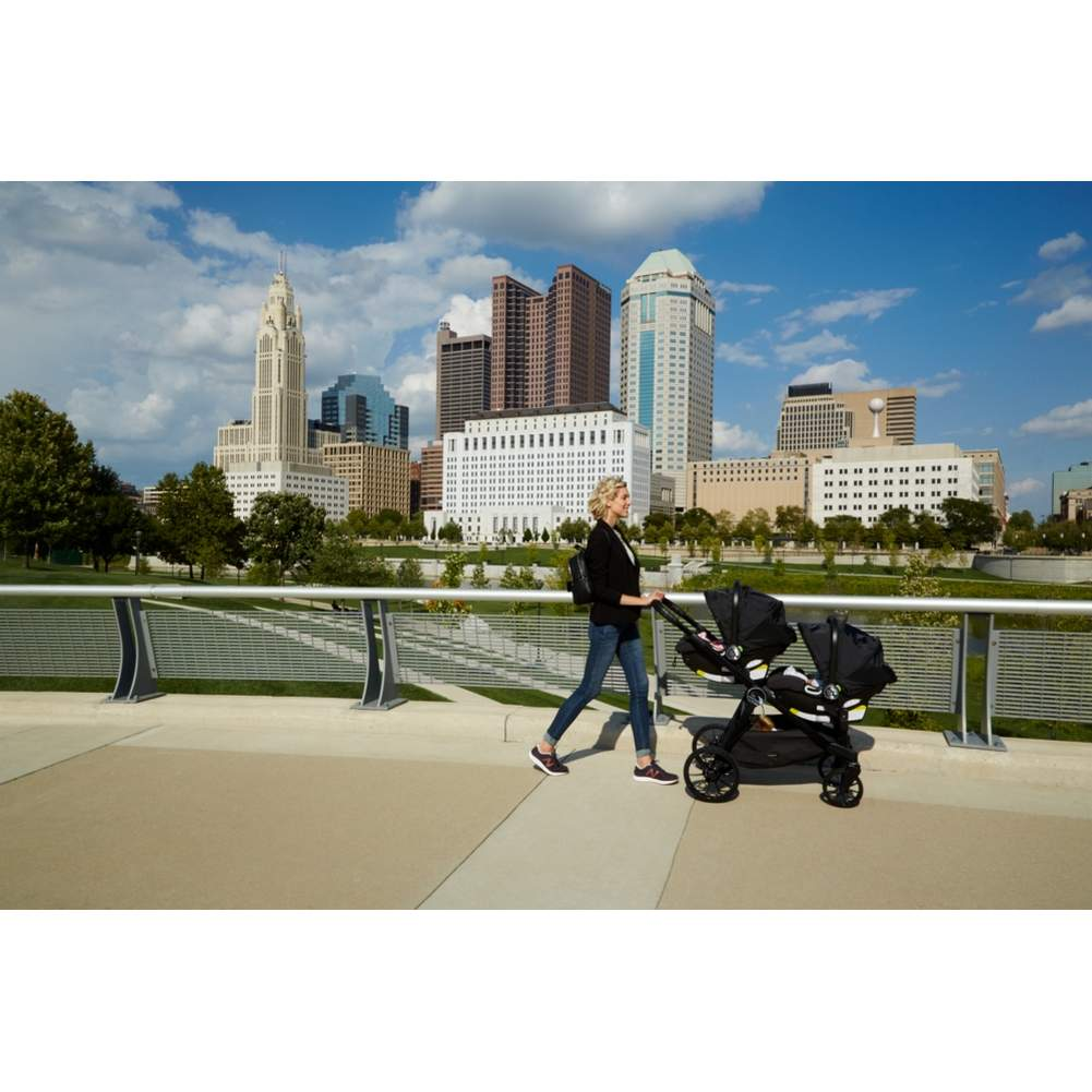 Baby Jogger City Select LUX Stroller & Second Seat Combo - Slate - image 5 of 6