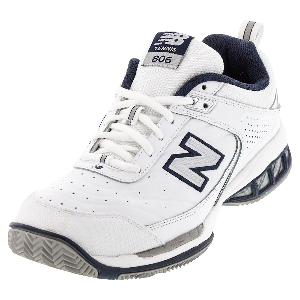 Men`s MC806 2E Width Tennis Shoes White