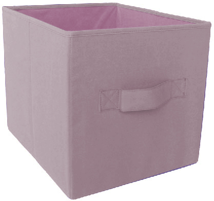 """Better Homes and Gardens 12.8""""W x 12.8""""D x 15""""H Collapsible Cube Storage Bin, (Single Unit), Multiple Colors"""