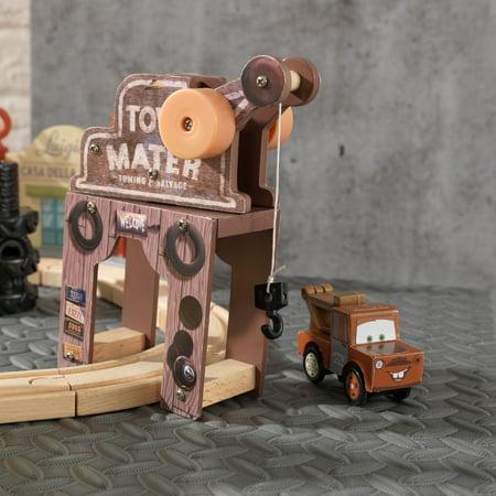 Kidkraft Disney Pixar Cars 3 50 Piece Radiator Springs Track Set
