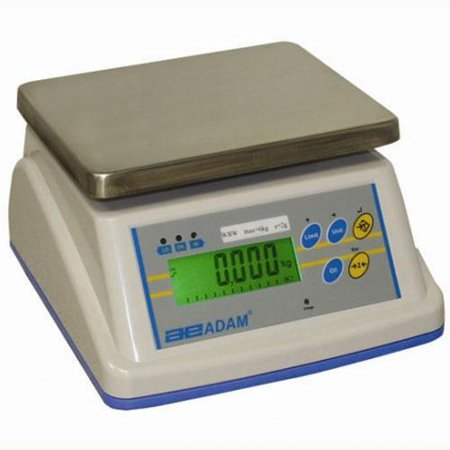 Adam Equipment WBW5a WBWa Washdown Scale, 4000g Capacity, 0.05g Readability