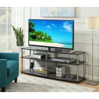 "Convenience Concepts Designs2Go 3 Tier 60"" TV Stand, Black"