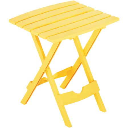 Resin Table Piece (Adams Mfg 8500-19-3735 Quik-Fold Side Table, Resin,)
