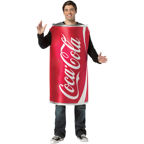 Coca Cola Can Adult Halloween Costume