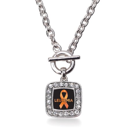 Leukemia Support Classic Charm Toggle Necklace
