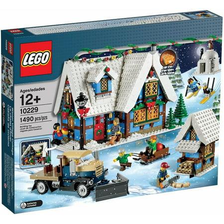 lego creator winter village cottage play set. Black Bedroom Furniture Sets. Home Design Ideas