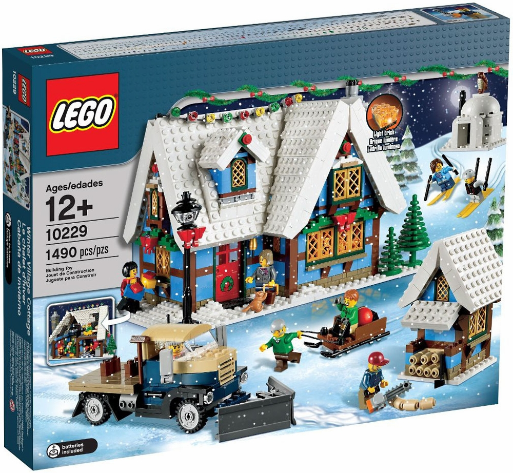 LEGO Creator Winter Village Cottage Play Set