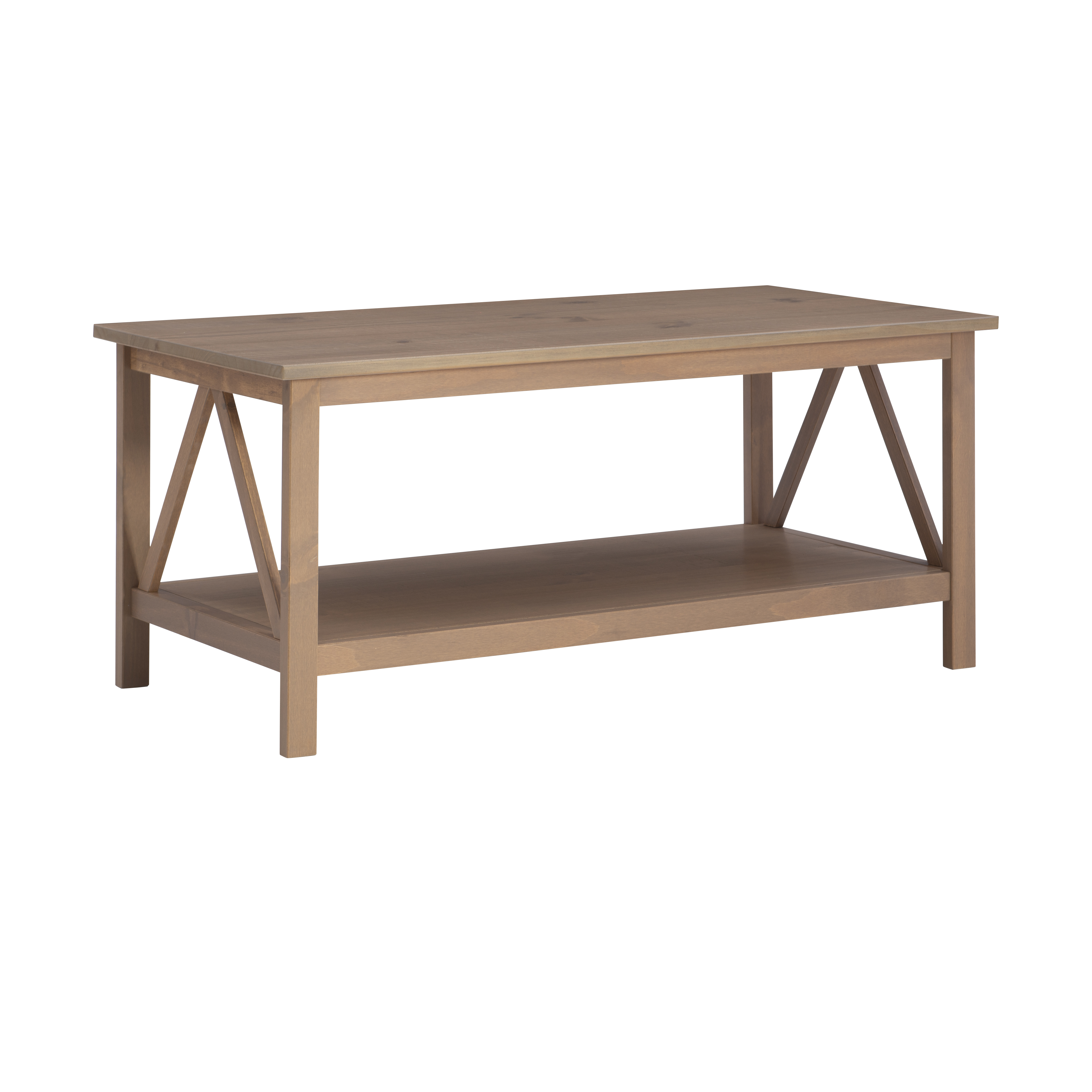Linon Home Titian Coffee Table 20 Inches Tall Multiple Colors Walmart Com Walmart Com