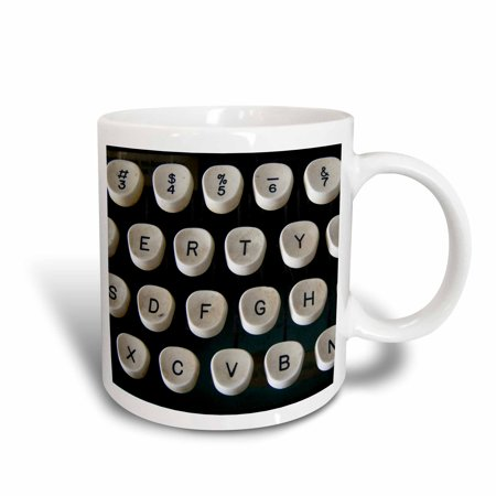 3dRose This Old Typewriter, Ceramic Mug, 11-ounce