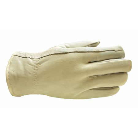 Goatskin Leather (G & F 3031L Premium Goatskin Leather Winter Work Gloves, Driving Gloves, Rayon Lining, Men's Large, 1-Pair)